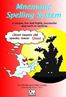 Mnemonic Spelling System and Wordbook